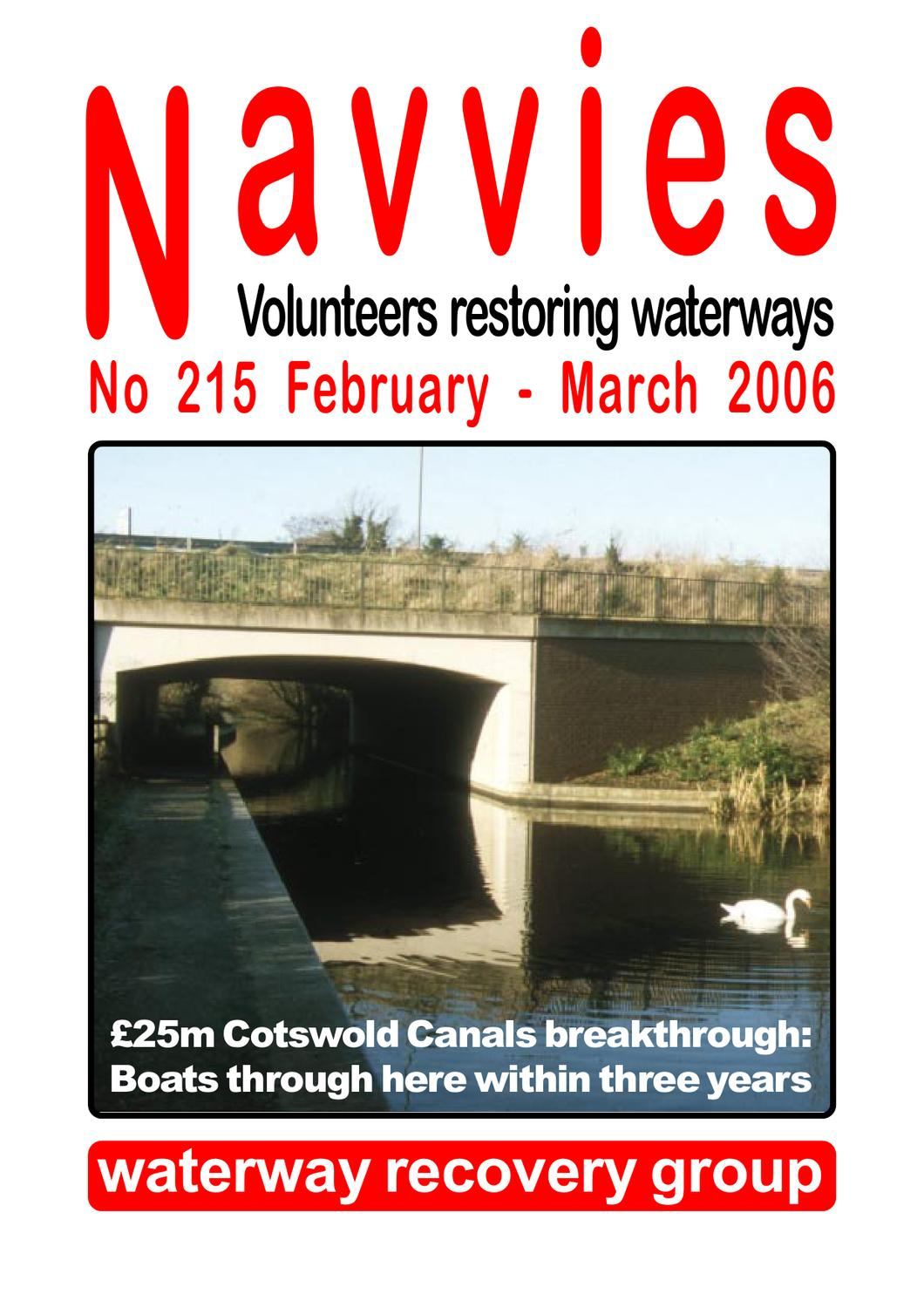 Navvies 215 By The Inland Waterways Association Issuu