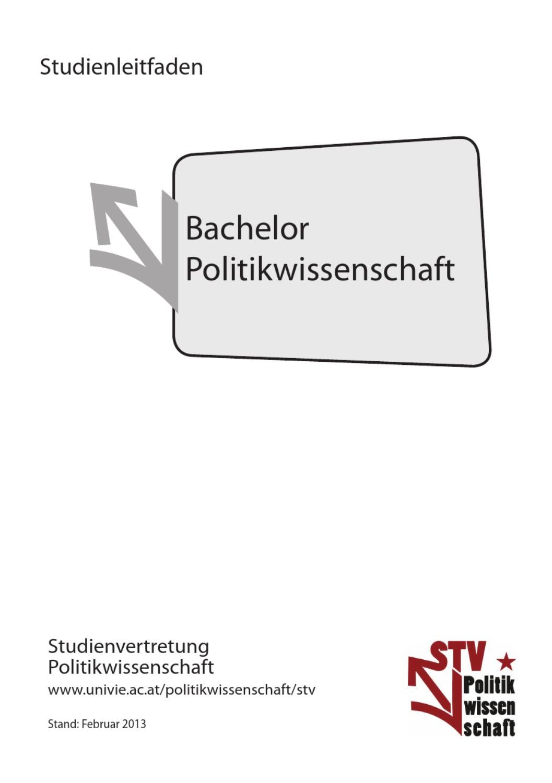 Bachelor Studienleitfaden SoSe 2013 by STV
