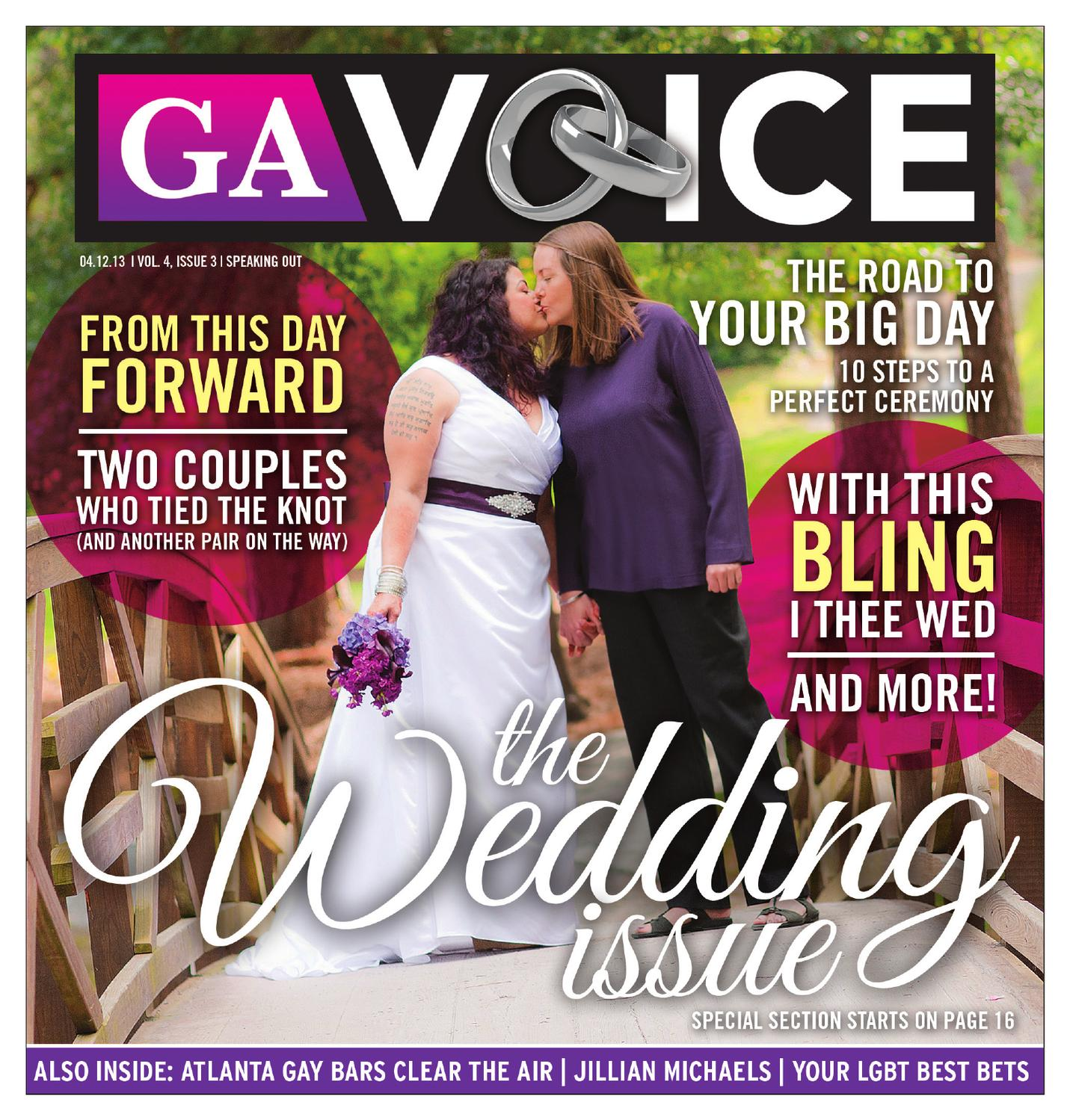 The Georgia Voice 4 12 13 Vol 4 Issue 3 By Georgia