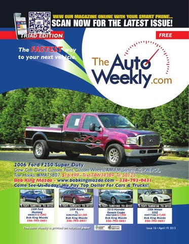 Issue 1316b Triad Edition The Auto Weekly by The Auto Weekly