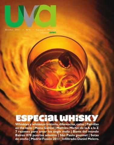 Revista UVA Especial Whisky - Nº4 Año 2011 by Constanza Barros - issuu 774f63ae4c4