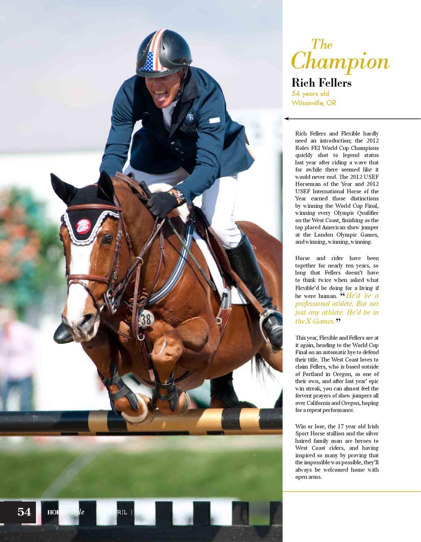 Horse & Style Magazine April/May 2013
