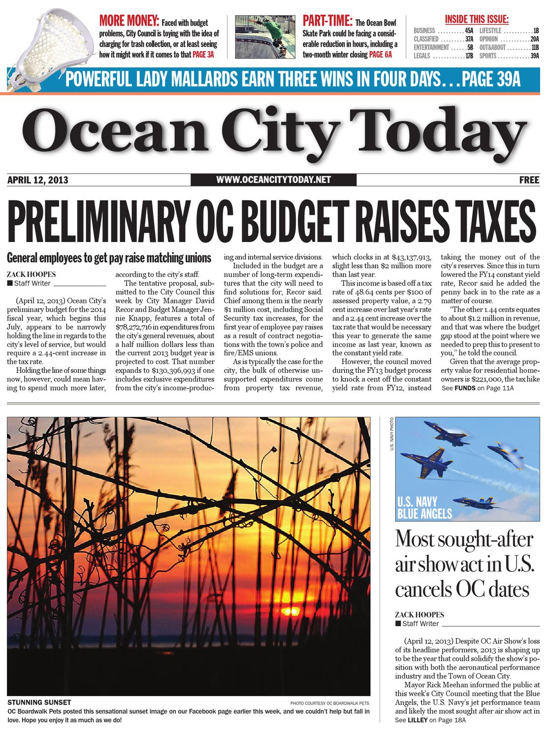 04 12 13 by ocean city today - issuu