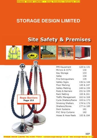 d7723b56e0256e SDL 127-184 Site Safety Premises by Storage Design Limited - issuu