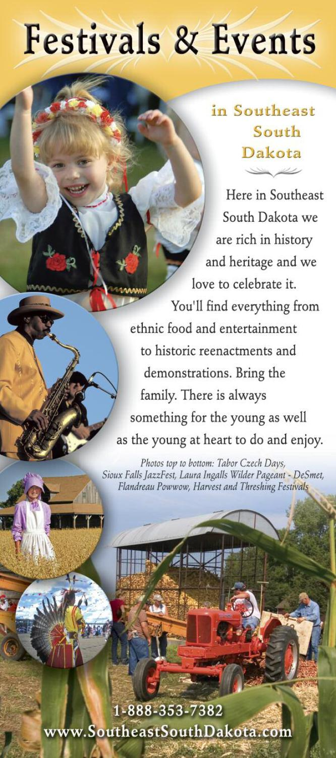Festivals Amp Events In Southeast South Dakota By Southeast