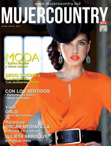 Mujer Country 240 Abril 2013 by MujerCountry Revista Femenina - issuu f713df8eb77