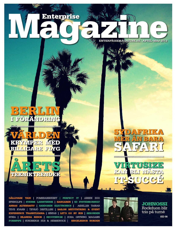 bd3d6261 Enterprise Magazine april/maj 2013 by RDS Förlag - issuu