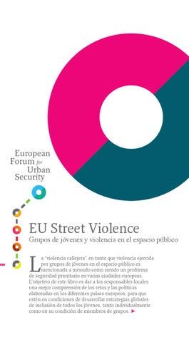 EU Street Violence Grupos de jóvenes y violencia en el espacio ... 5b53f131bcb