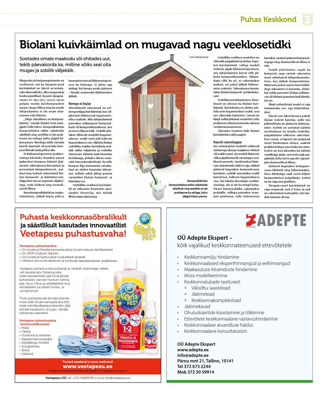 a000edc85c8 Puhas Keskkond   kevad 2013 by Eesti Päevalehe AS - issuu