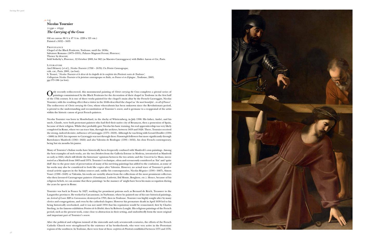 Nicolas Tournier. Un peintre caravagesque, 1590-1639 - Collectif