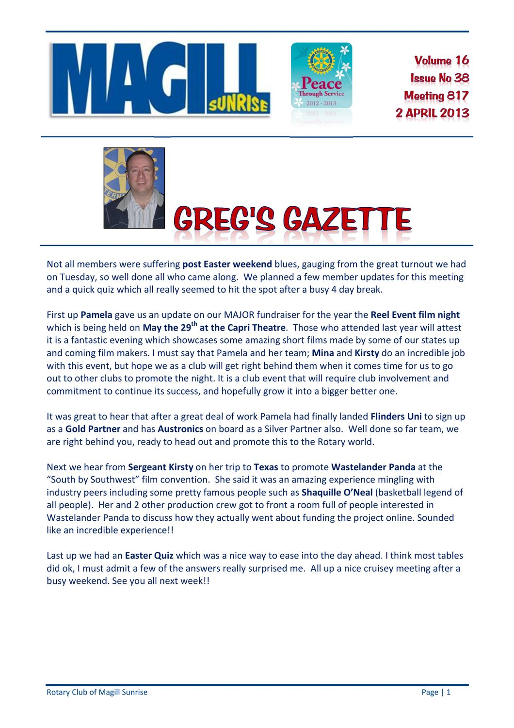 817 Bulletin Issue 16-38 20130402 by Magill Rotary - issuu