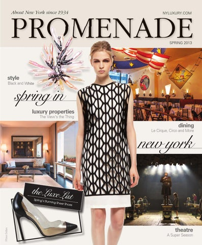 da0adb0d559f Promenade - Spring 2013 by Promenade Magazine - issuu