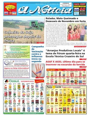 Edição de 13 e 14 de abril de 2013 by Jornal A Notícia - issuu ff64bb42e2d4f