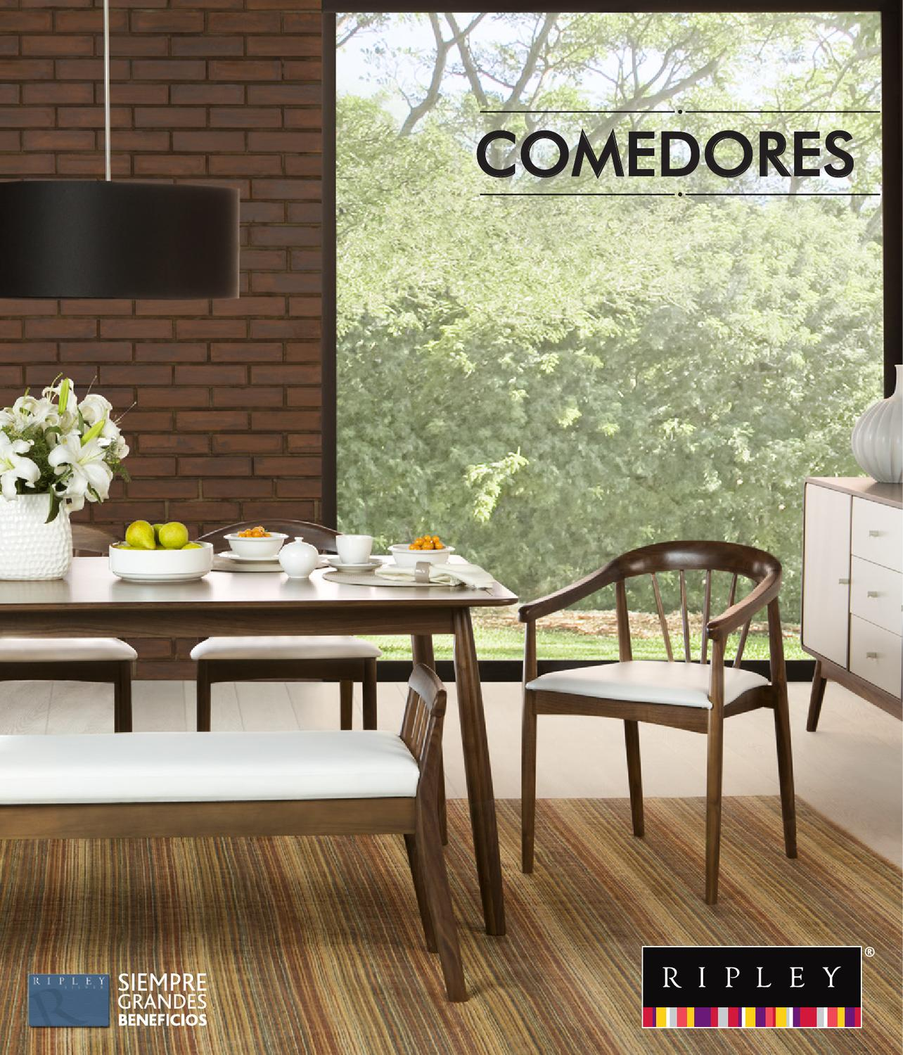 Comedores by ripley peru issuu for Ofertas comedores ripley