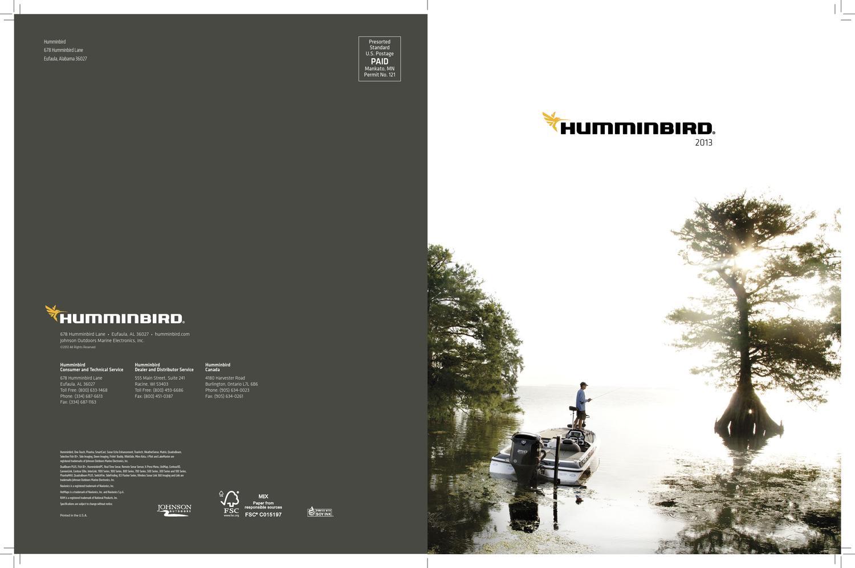 Humminbird catalog 2013 by Igor - issuu