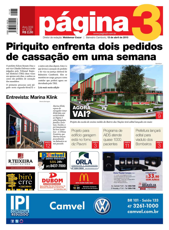 e7d738dac8202 Jornal Página3 - edição 1135 by Jornal Página3 - issuu