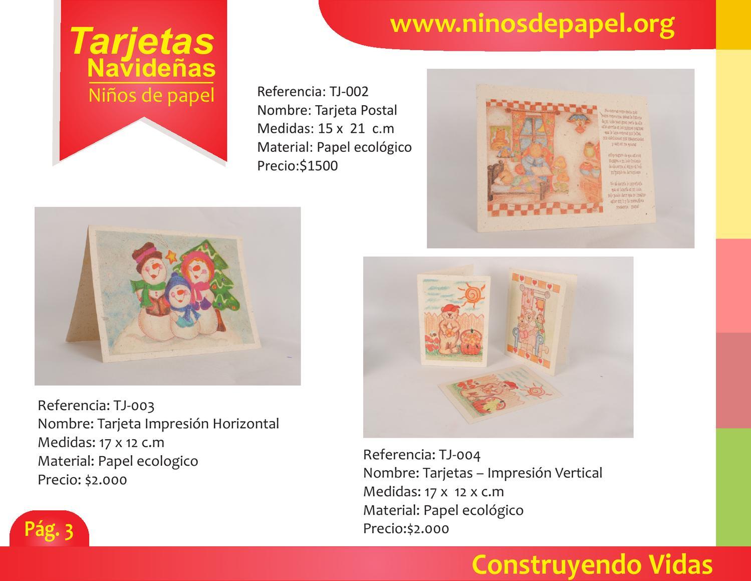 Catalogo Ninos De Papel Colombia By Ninos De Papel Issuu