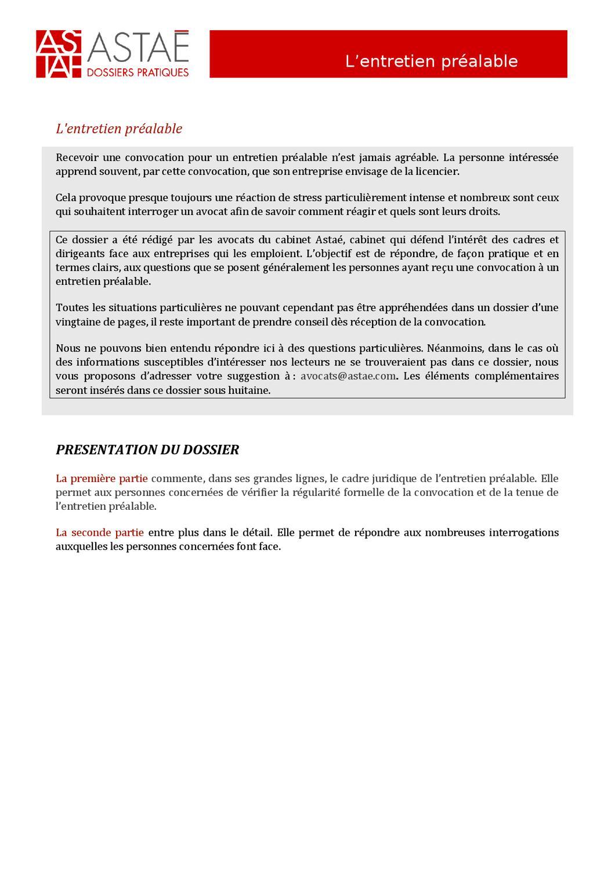 L 39 entretien pr alable by philippe ravisy issuu - Entretien d embauche cabinet d avocat ...