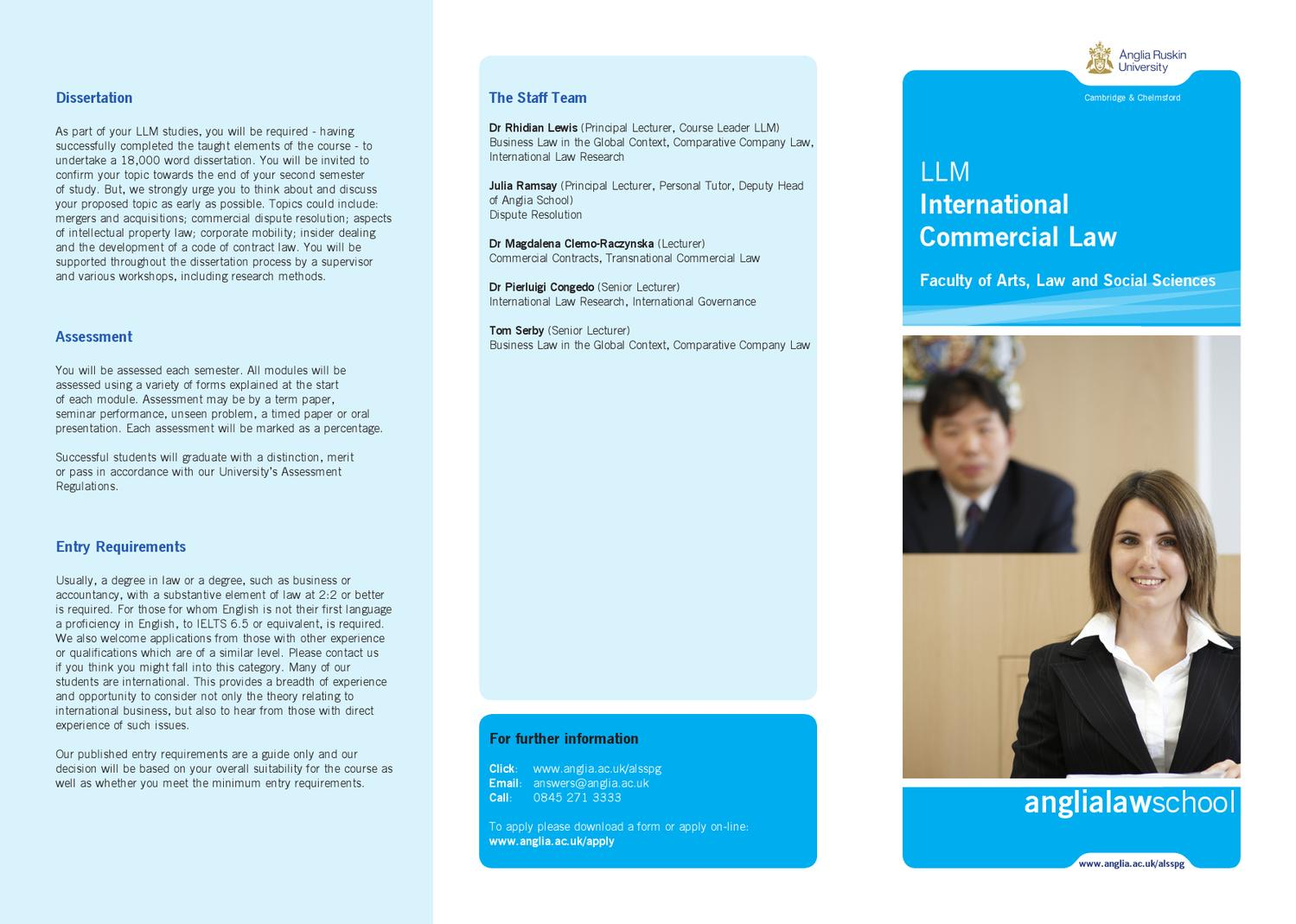 international law dissertation I am a law graduate from london aspiring to work within the legal profession i have recently finished a master's degree in law with a dissertation on.