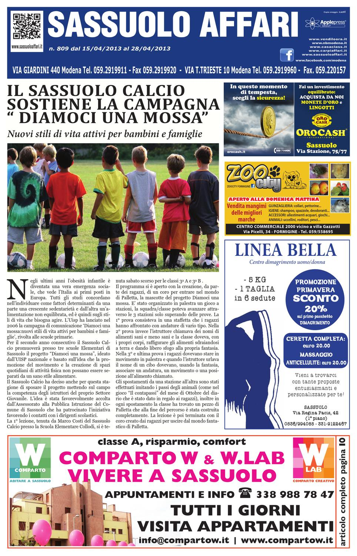 sassuolo affari 15 aprile 2013 by Apple Press Group srl issuu
