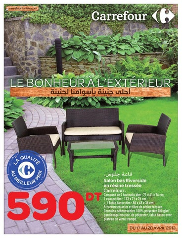 Catalogue Carrefour Le Bonheur  LExtrieur By Carrefour Tunisie