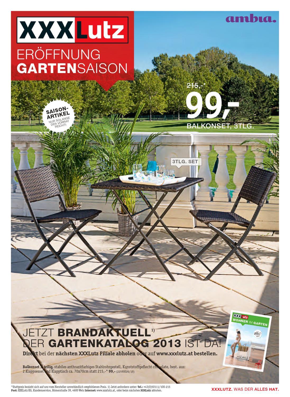 Xxxlutz Gartensaison Prospekt 1504 23042013 By Aktionsfinder Gmbh
