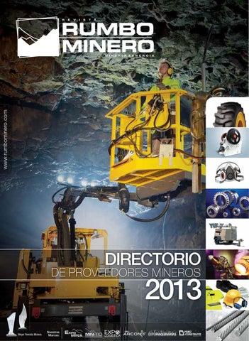 b5a0ce0bab1d Revista Rumbo Minero N° 68 Directorio 2013 2da Parte by GRUPO ...