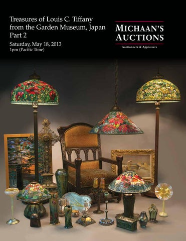 19035a6aaaec Treasures of Louis C. Tiffany from the Garden Museum