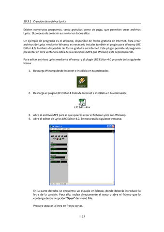 gratis winamp lrc editor 4.0