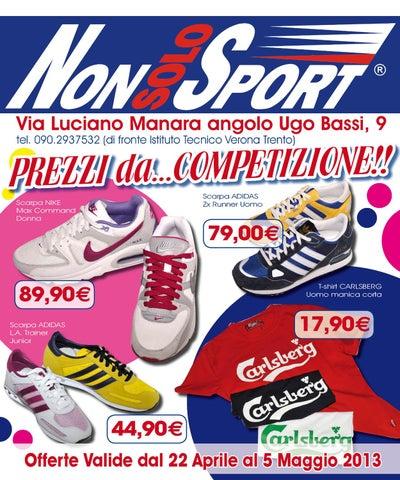 Volantino non solo sport 22 aprile 5 maggio 2013 by for Volantino despar messina