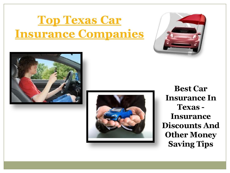 Best Car Insurance California: Top Texas Car Insurance Companies By Cheap Car Insurance