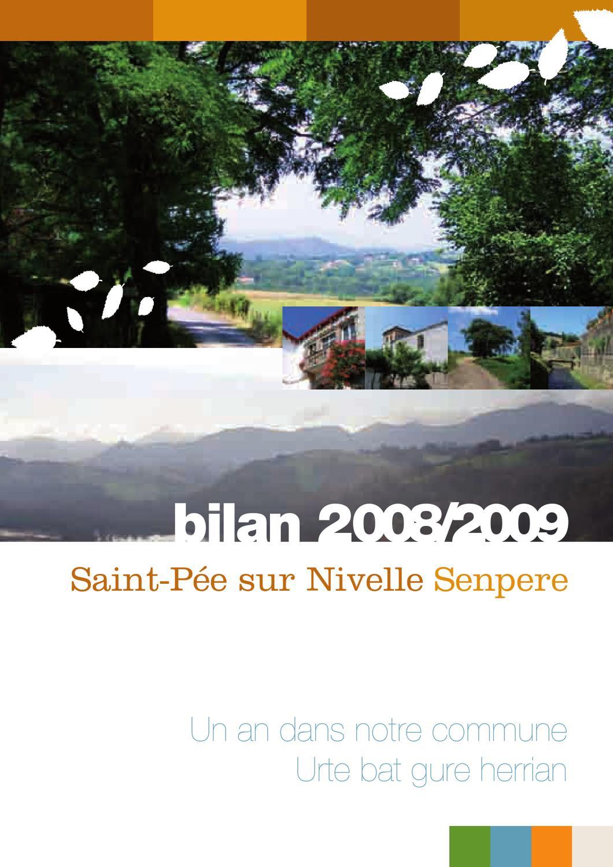 Fait Divers Saint Pee Sur Nivelle bilan 2008 2009senpereko herriko etxea - issuu