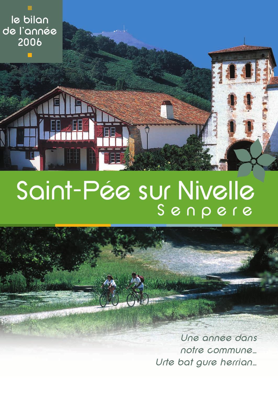 Fait Divers Saint Pee Sur Nivelle bilan 2006senpereko herriko etxea - issuu