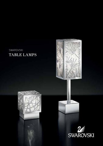 Awesome Swarovski Table Lamps 2013 By Bellatrix Bellatrix Issuu Interior Design Ideas Inesswwsoteloinfo
