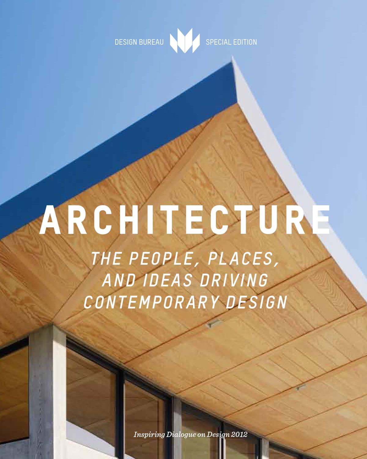 Architecture volume 1 by alarm press issuu - Architecturen volumes ...