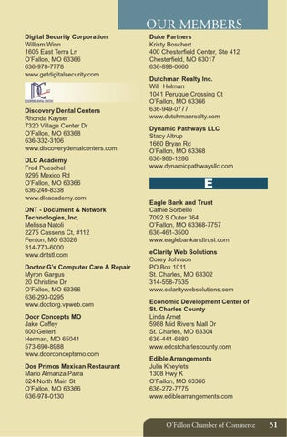 2013 membership directory by o fallon chamber of commerce issuu