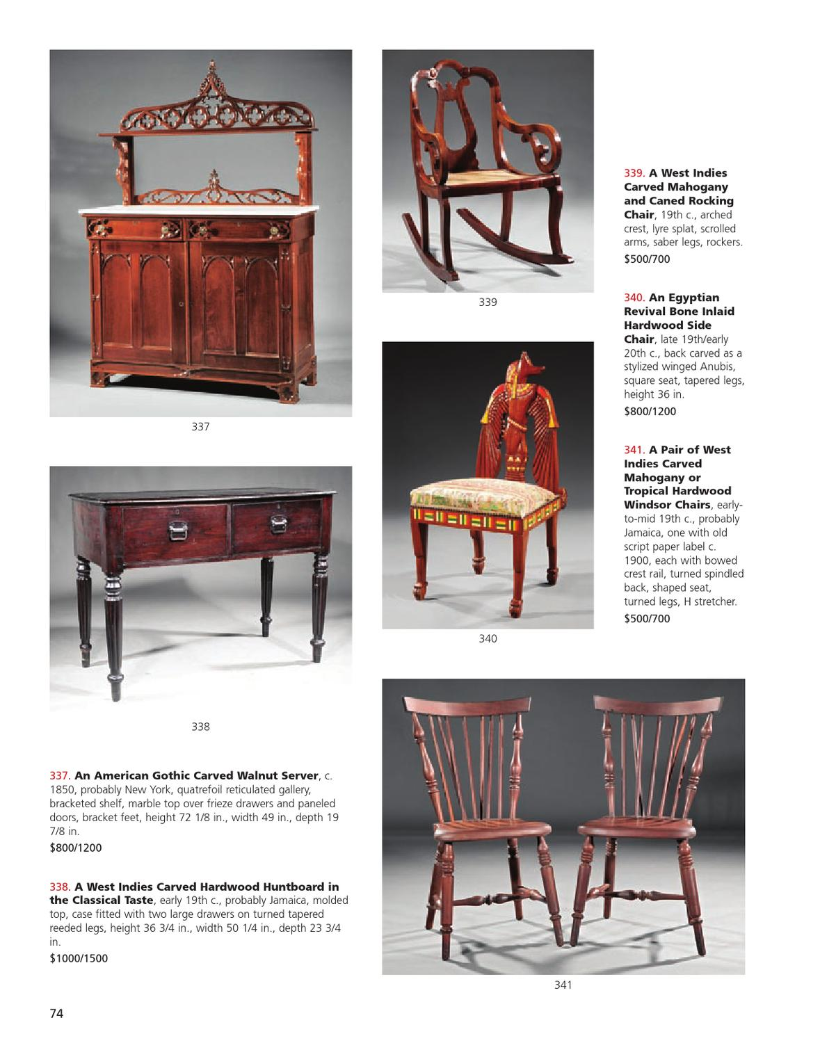 Enjoyable Spring Estates Auction May 4Th 5Th By Neal Auction Issuu Alphanode Cool Chair Designs And Ideas Alphanodeonline