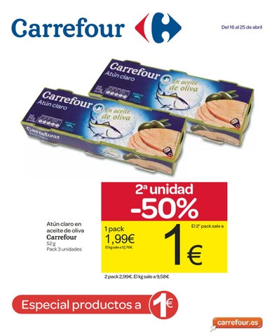Catalogo Carrefour 2 Unidad 50 Del 16 Al 25 De Abril 2013 By Revistas En Linea Issuu