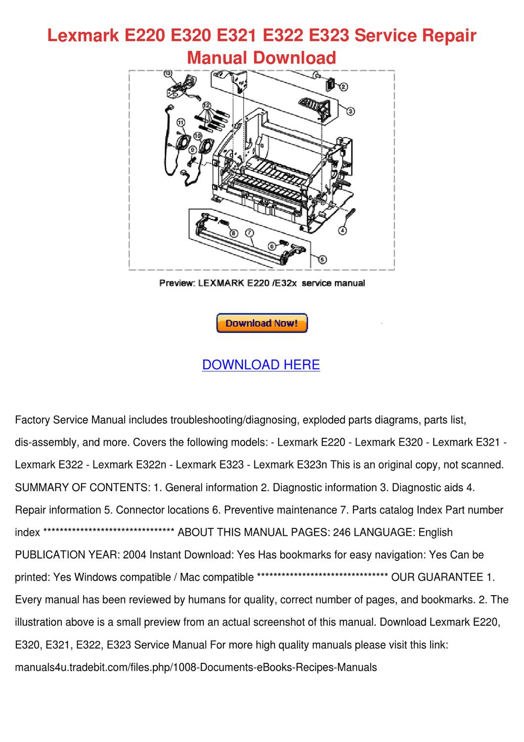 1997 mercedes e320 service repair manual 97. Pdf by linda pong issuu.