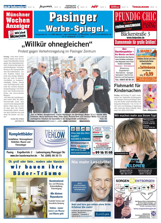 443fadea93 KW 16-2013 by Wochenanzeiger Medien GmbH - issuu