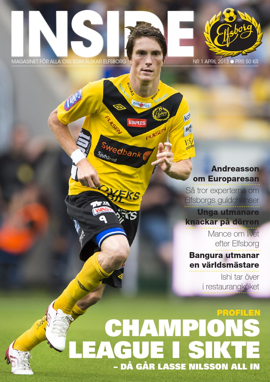 Inside Elfsborg nr 1 2013 by Break a Story Communication AB - issuu fb602b08b84a6