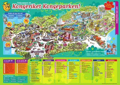 kongeparken kart Kongeparken kart 2013 by Kongeparken   issuu kongeparken kart