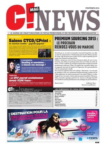 C!mag News - Avril 2013 by 656 Editions - issuu 734d28c738f