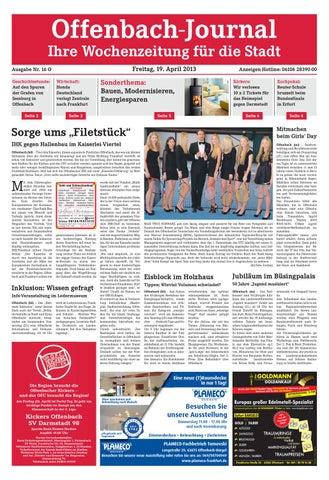 ed820ea0a1c9eb OJ Online 016 13 by Dreieich-Zeitung Offenbach-Journal - issuu