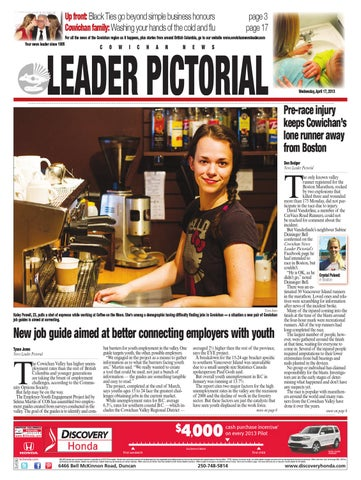 Cowichan news leader pictorial april 17 2013 by black press issuu page 1 fandeluxe Choice Image
