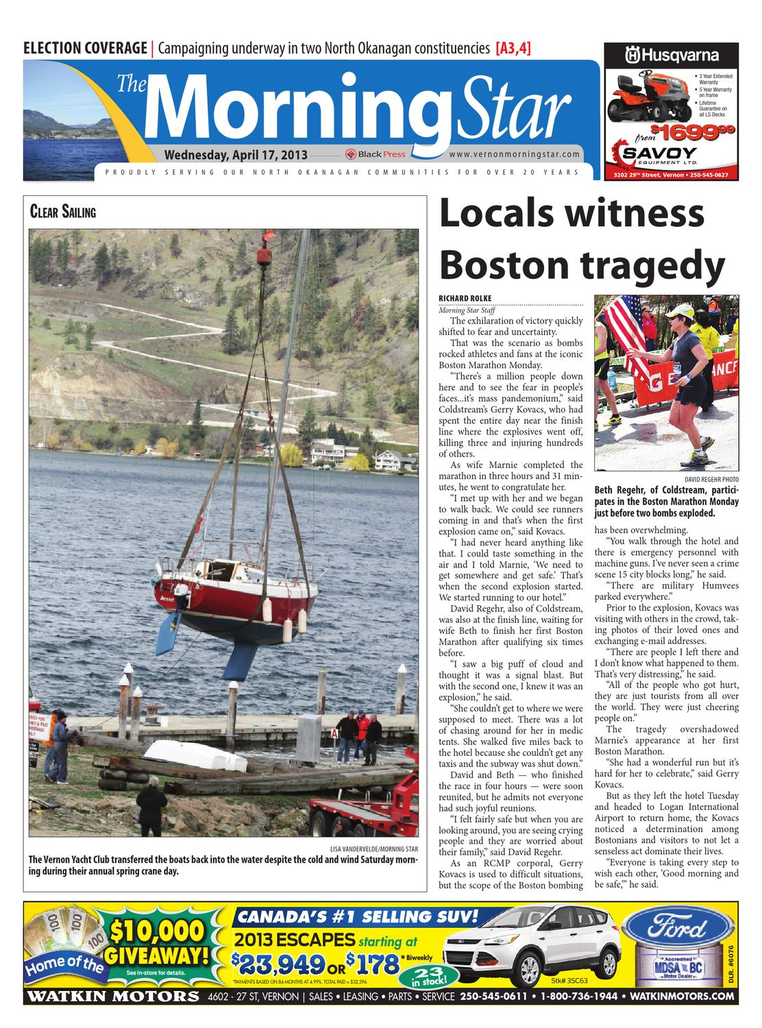 Vernon Morning Star April 17 2013 By Black Press Issuu