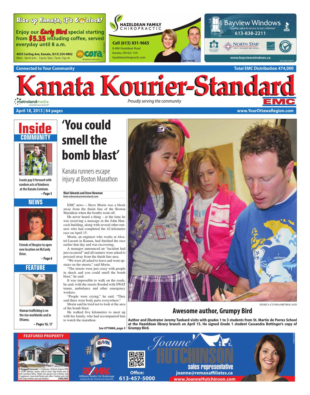 Kanata Kourier Standard By Metroland East Issuu 2000 Excursion 4x4 68l Engignition Switchwiring Harnesstrans