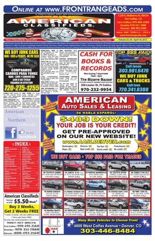 American Classifieds Front Range by Thrifty Nickel of Northern