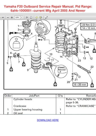 yamaha outboard motor owners manual