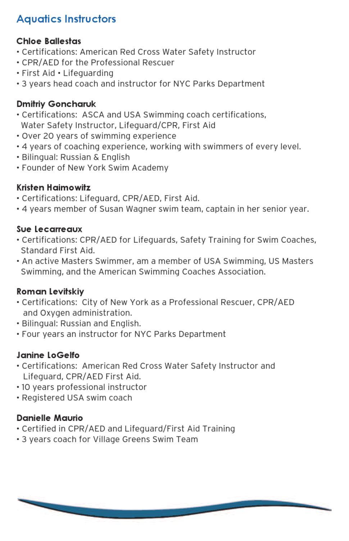 Jcc Aquatics Brochure By Jcc Of Staten Island Issuu